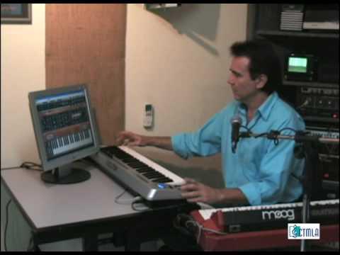 Luciano Alves - Tutorial 2, Teclado Virtual Moog, livro Fazendo Música no Computador