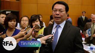 Tin nóng RFA   Cựu Bộ trưởng Công thương Vũ Huy Hoàng và 9 người bị truy tố