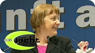 Eis für Angela Merkel und Christian Wulff