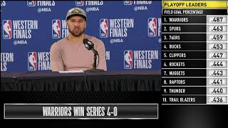 Klay Thompson Press Conference | Western Conference Finals Game 4