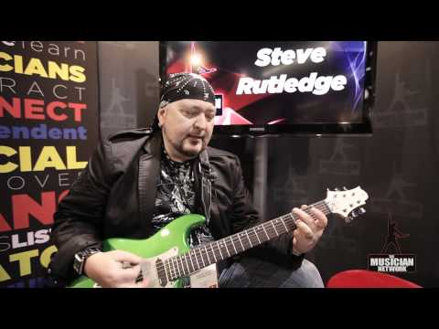 Steve Rutledge: NAMM 2012 Interview & Performance