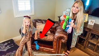 Find Your Mystery Slime Glove Ingredients Challenge!!!