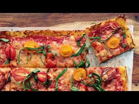 How to Make Cauliflower Crust Pizza Dough