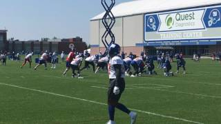 Inside look at Giants WR Odell Beckham Jr. in practice