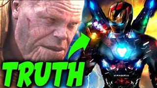CONFIRMED: THE REAL REASON WHY Tony Stark is The Only Avenger Thanos FEARS in EndGame!