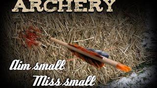 Instinctive Archery: Aim small miss small
