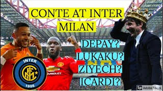 How CONTE's 5-4-1 can win SERIE A with INTER MILAN | Lukaku, Depay, Ziyech, | Who should they sign?