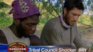Edgardo Rivera Voted Off 'Survivor: Fiji' (CBS News)