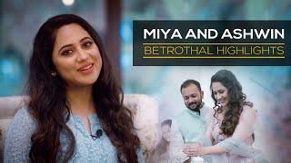 The Different Shades Of Life | Actress Miya and Ashwin | Betrothal Highlights