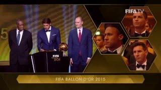 LIONEL MESSI REACTION: FIFA Ballon d'Or winner [SHORT]