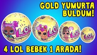 Lol Confetti POP Pets Lil Sisters Banyo Bombası (Charm Fizz) 4 LOL Bebek Biri Ultra Nadir!