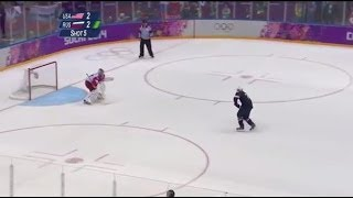 TJ Oshie Olympic Shootout (NBC English)