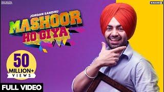 Mashoor Ho Giya – Jordan Sandhu Video HD