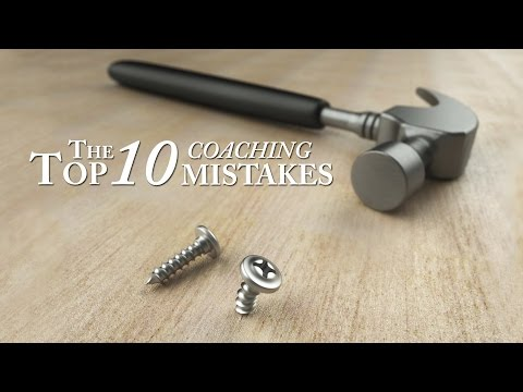 Top 10 Coaching Mistakes