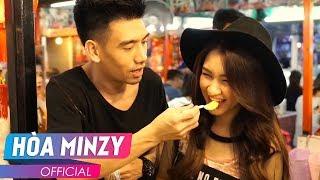 """Hòa Minzy """"Phá Đảo"""" Chợ Ẩm Thực Thái Lan Với 1000 Bat [ Thai Travel Food ]"""