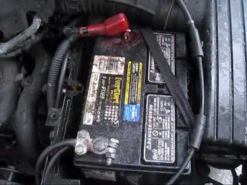 fuse box location in a 2013 ford focus youtube battery cable negative side and terminal replace 2000  battery cable negative side and terminal replace 2000