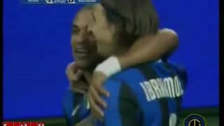 Zlatan Ibrahimovic backheel goal against Bologna