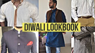 DIWALI LOOKBOOK | What to Wear on Diwali | Indian Traditional Dressing for Men | AKT TV