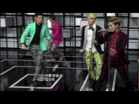 130221 SHINee M! Countdown comeback mistake