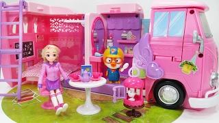 소피루비 캠핑카 자동차 여행 뽀로로 장난감 인형놀이 sofy ruby camping car Picnic toys pororo play
