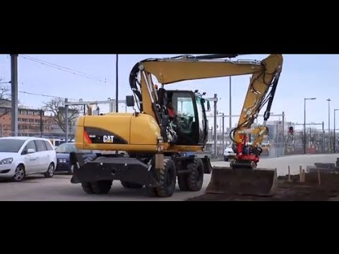 Cat Wheeled Excavator   Four Wheels, Infinite Possibilities