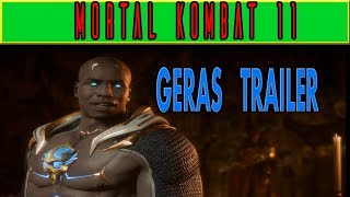 Mortal Kombat 11- Geras Trailer (New Character)