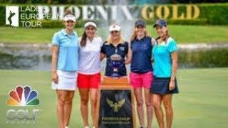 [LADIES EUROPEAN TOUR] THAILAND CHAMPIONSHIP R4 (féminin) - Golf Channel France