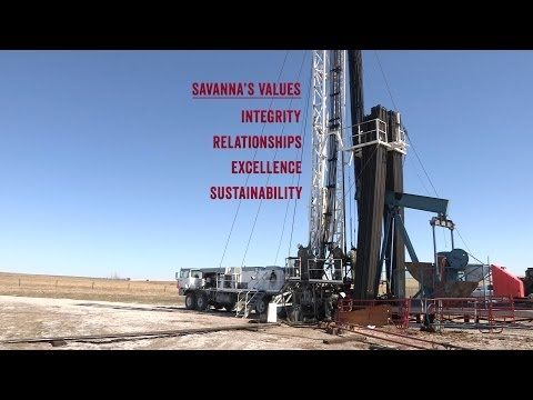Savanna Rig Manager Explains Values