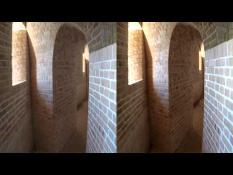Let's Explore Fort Barrancas in HD 3D by Jesse James Allen