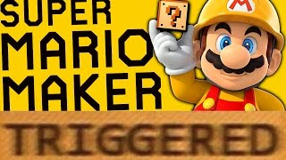How Super Mario Maker TRIGGERS You!