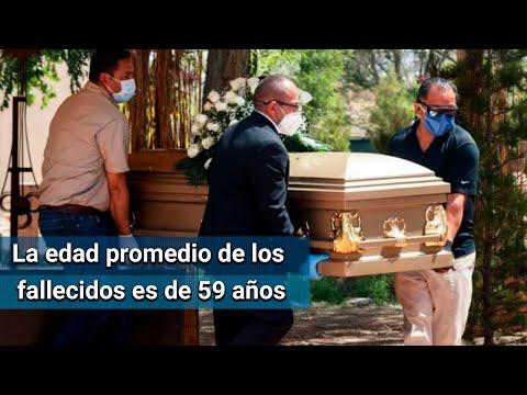 Mueren por Covid-19 más jóvenes que ancianos en México que en Europa