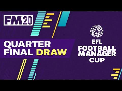 EFL Football Manager Cup   Quarter Final Draw