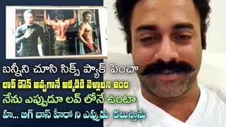 Went for a six-pack taking Allu Arjun as inspiration: Hero..