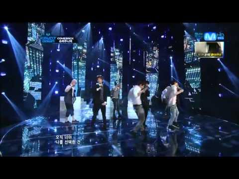 Super Junior - From U + Sexy, Free & Single (Live Comeback Stage)