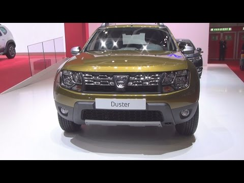 Dacia Duster Urban Explorer TCe 125 4x4 Start&Stop (2016) Exterior and Interior in 3D
