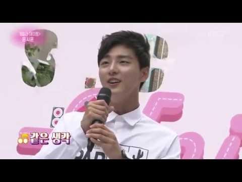 0611 연중 中 윤시윤 개인기 신혜성 모창