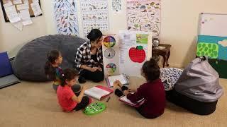Morning Circle Time Homeschool Routine Nov 2018