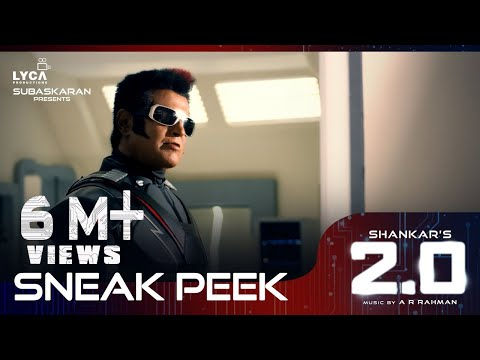 2.0 - Sneak Peek | Rajinikanth