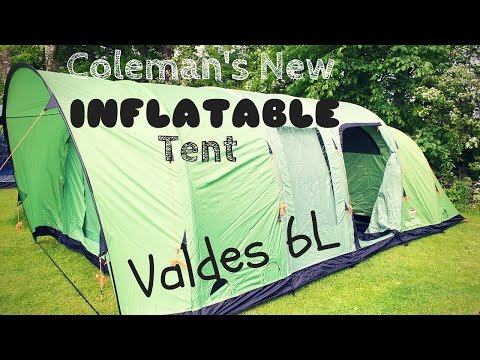 video Coleman Valdes 6L Tent Review