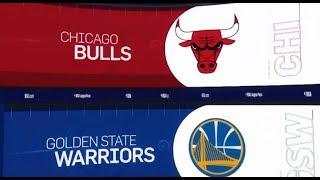 Golden State Warriors va Chicago Bulls Game Recap   1/11/19   NBA