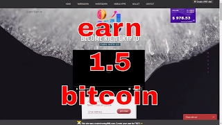 EARN DAILY 1 BITCOIN PAYMENT PROOF BITSTRADE BECOME RICH CRYPTO