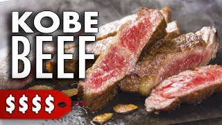 Tasting A5 Kobe Beef for the First Time | Japanese Wagyu