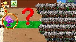 Plants vs Zombies Hack Cactus vs 9999 Zombie vs Zomboni
