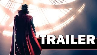 DOCTOR STRANGE Official Trailer (Marvel - 2016 )
