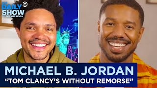 """Michael B. Jordan - Modernizing """"Tom Clancy's Without Remorse"""" 