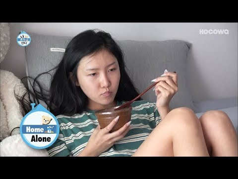 Hwasa's Nails are Really Long! How Does She Pick Her Nose?! [Home Alone Ep 247]