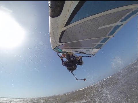 GoPro Windsurfing Extreme 3rd Person View