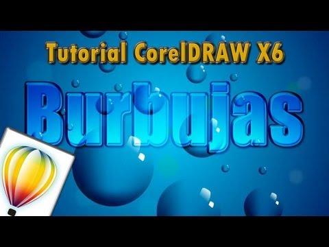 tutorial corel draw - Burbujas - YouTube | Video Tutorial