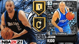 DIAMOND JASON KIDD GAMEPLAY! THE TOP POINT GUARD IN NBA 2K21 MyTEAM? BETTER THAN GARY PAYTON?