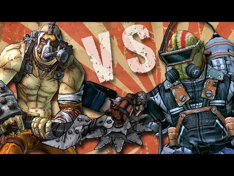 Borderlands 2 - Krieg The Psycho Vs. Pyro Pete The Invincible - Smashpipe Games